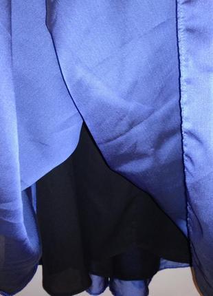 Шикарное переливающееся макси платье 20/54-56 размера3 фото