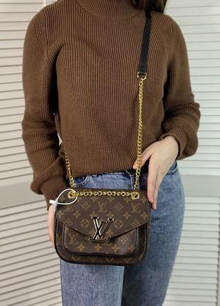 Женская сумка на и через плечо жіноча сумочка на цепочке кросс-боди3 фото