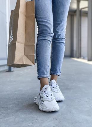 Adidas ozweego 🍏 стильные женские кроссовки адидас4 фото