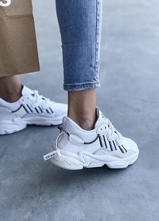Adidas ozweego 🍏 стильные женские кроссовки адидас3 фото