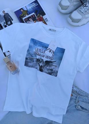Стильная футболка zara5 фото