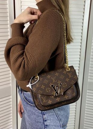 Женская сумка на и через плечо жіноча сумочка на цепочке кросс-боди2 фото