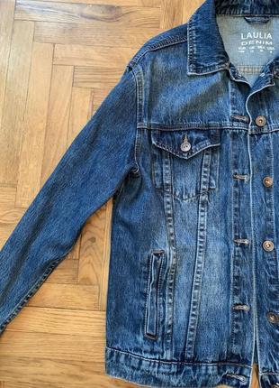Продам новую джинсовку ручная роспись2 фото