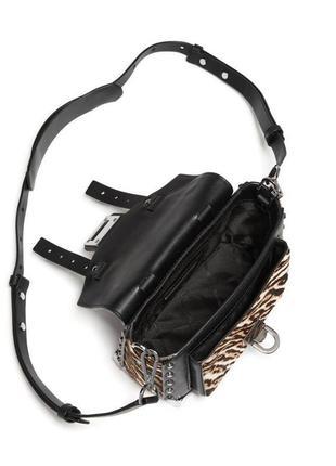 Michael michael kors manhattan, сумка через плече, принт (зебра)🌈💐🌹 стильний львів8 фото