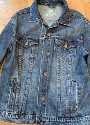 Продам новую джинсовку ручная роспись3 фото