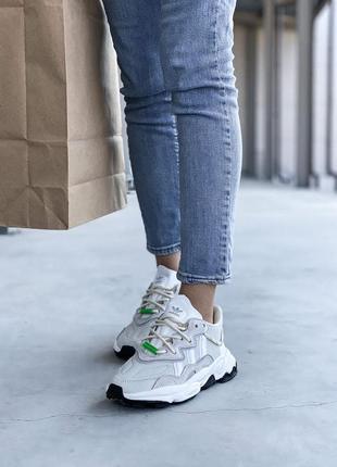 Adidas ozweego 🍏 стильные женские кроссовки адидас6 фото