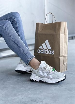 Adidas ozweego 🍏 стильные женские кроссовки адидас9 фото