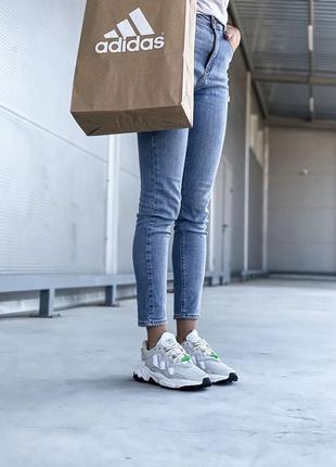 Adidas ozweego 🍏 стильные женские кроссовки адидас5 фото