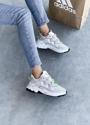 Adidas ozweego 🍏 стильные женские кроссовки адидас10 фото