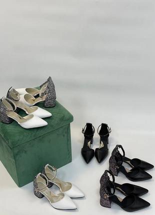 Нарядные кожаные туфли4 фото