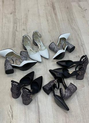 Нарядные кожаные туфли2 фото