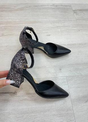 Нарядные кожаные туфли5 фото