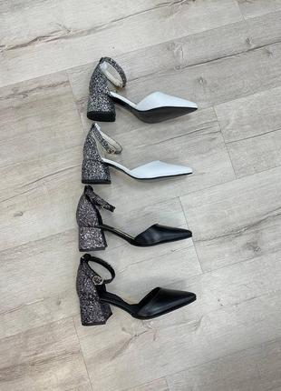 Нарядные кожаные туфли6 фото