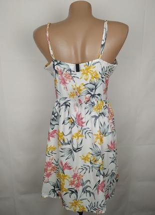 Платье новое модное натуральное h&m uk 8/36/xs2 фото
