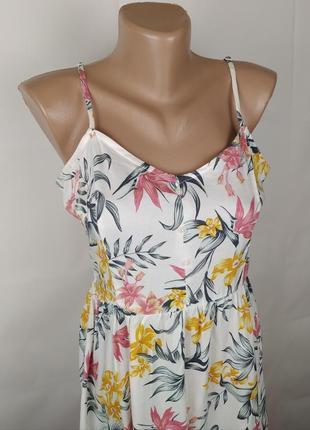 Платье новое модное натуральное h&m uk 8/36/xs3 фото