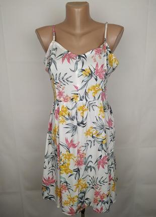 Платье новое модное натуральное h&m uk 8/36/xs6 фото
