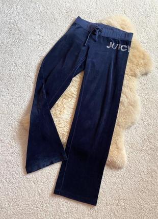 Juicy couture спортивные прогулочные брюки, оригинал сша.2 фото