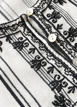 Рубашка, блуза с вышивкой reserved5 фото