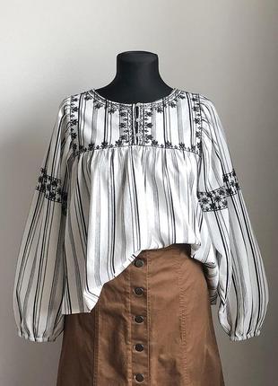 Рубашка, блуза с вышивкой reserved1 фото
