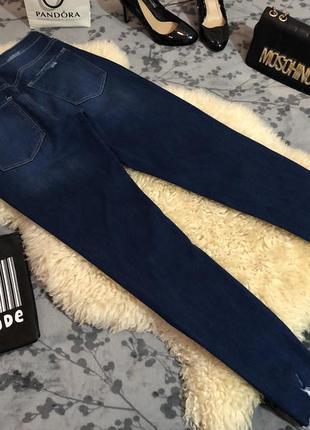 Супер крутые джинсы стрейч с необработанным низом, р.м/л...👠🌹💋6 фото