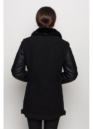 Тёплая куртка с примесью шерсти glo-story2 фото