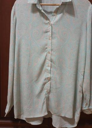 Рубашка в стиле etro размер m1 фото
