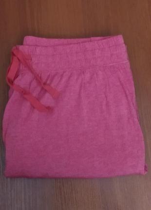Эластичные брюки для дома и отдыха от tcm tchibo, германия, раз.наш 46/48+5 фото