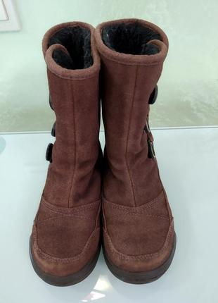 Замшевые сапожки на девочку ессо 28 (18,5 см)