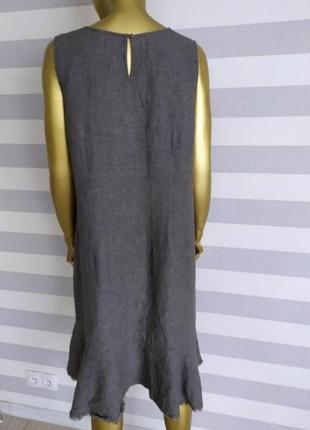 Льняное платье nile дорого бренда3 фото