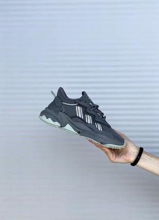 Adidas ozweego 🍏 стильные женские кроссовки адидас озвиго2 фото