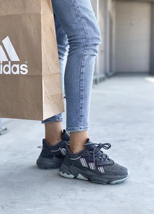 Adidas ozweego 🍏 стильные женские кроссовки адидас озвиго4 фото