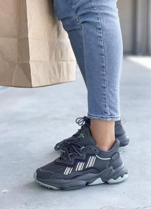 Adidas ozweego 🍏 стильные женские кроссовки адидас озвиго1 фото