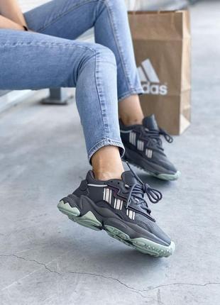 Adidas ozweego 🍏 стильные женские кроссовки адидас озвиго10 фото
