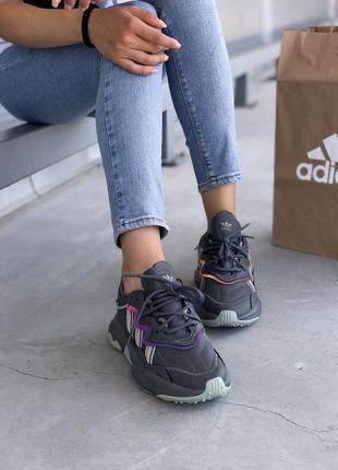 Adidas ozweego 🍏 стильные женские кроссовки адидас озвиго9 фото