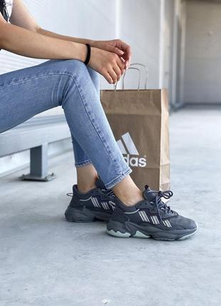 Adidas ozweego 🍏 стильные женские кроссовки адидас озвиго7 фото
