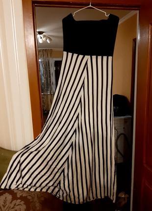 Длинное в пол платье р. 182 фото