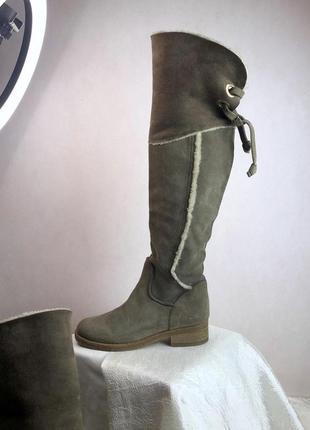 Кожаные как новые ботфорты napoleoni made in italy рр 371 фото