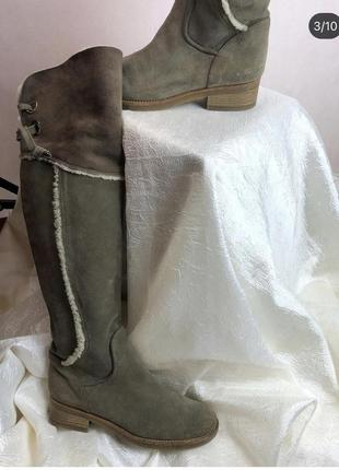 Кожаные как новые ботфорты napoleoni made in italy рр 374 фото