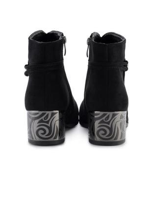 Женские ботинки на каблуке4 фото