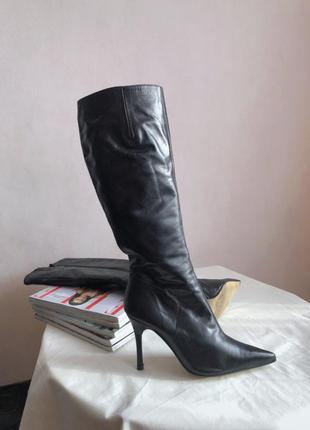 Итальянские кожаные ботинки brenda zaro, размер 36-36.51 фото