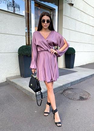 Шелковое платье2 фото