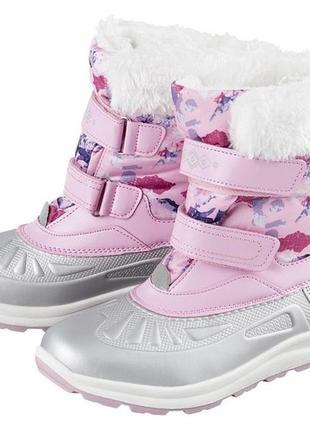 Зимние сапоги pepperts на девочку 34, 35 раз мер, чоботи зимові чобітки для дівчинки 34,35 розмір peperts