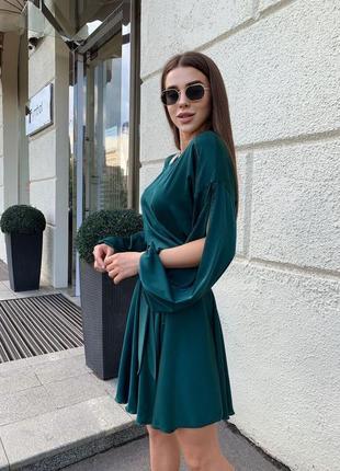 Шелковое платье3 фото