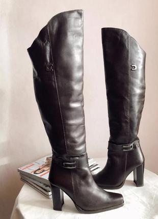 Фантастические зимние ботфорты ботинки caprice rr 38