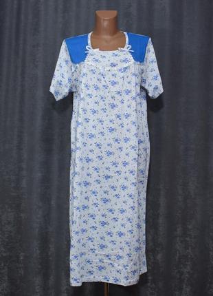 Нічна сорочка, ночнушка, ночная рубашка 50-58р. fazor