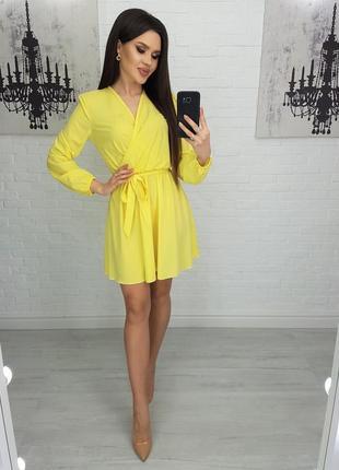 Платье женское нарядное короткое мини на выход