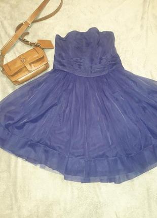 Коктельное платье бюстье
