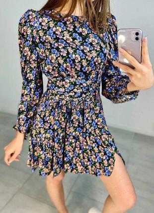 Квітчата сукня, цветочное платье dilvin