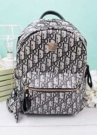 Женский рюкзак портфель в принт вместительный крутой модный красивый стильный маленький
