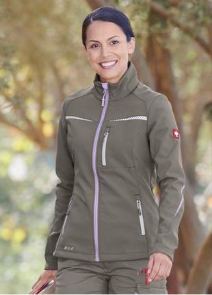 Ветрозащитная/непромокаемая спортивная куртка на флисе engelbert strauss